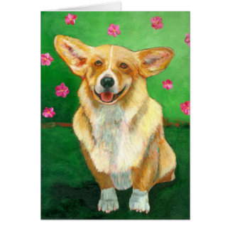 """Corgi"" Greeting Cards"