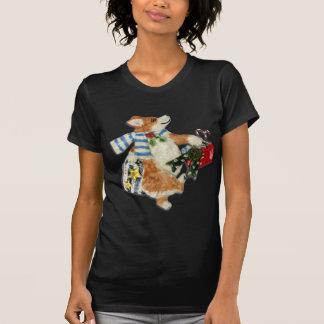 """""""Corgi Holiday Shopper"""" Corgi T-Shirt"""