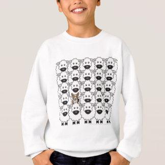 Corgi in the Sheep Sweatshirt