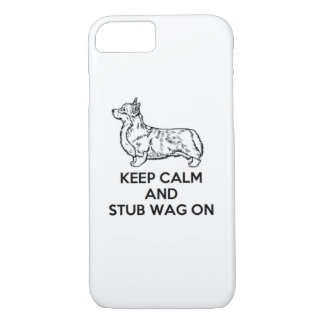 "Corgi ""Keep Calm"" iPhone Case"