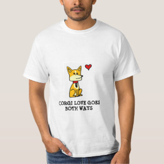 Corgi Love Goes Both Ways T-shirt
