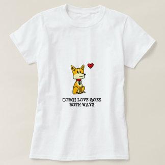 Corgi Love Goes Both Ways T-shirt