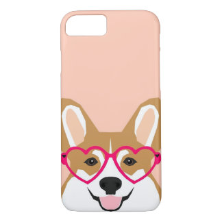 Corgi Love - Welsh Corgi funny iPhone 8/7 Case
