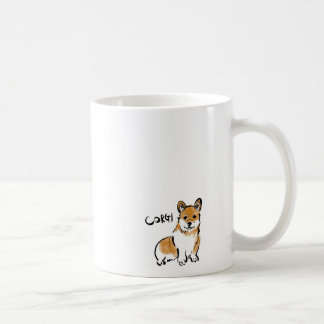 corgi mag coffee mug