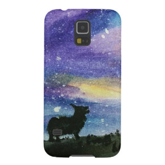 Corgi Night Sky Phone Case