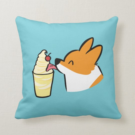Corgi Pineapple Dole Whip Pillow