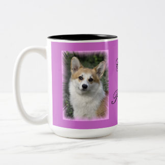 Corgi Princess Two-Tone Coffee Mug