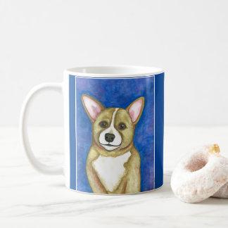 Corgi pup mug