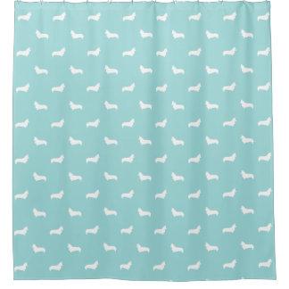 Corgi Shower Curtain - corgi dog