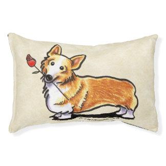 Corgi Sweetheart Small Dog Bed