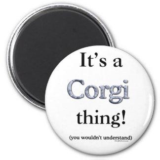 Corgi Thing Magnet