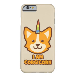 Corgi Unicorn - CORGICORN Barely There iPhone 6 Case