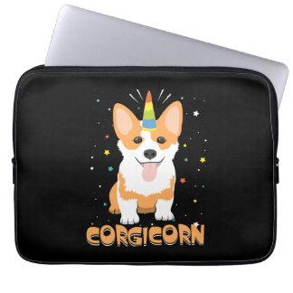 Corgi Unicorn - Corgicorn - Cute Dog Cartoon Laptop Sleeve