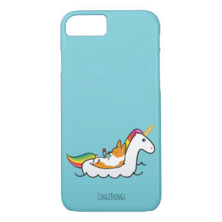 Corgi Unicorn Floatie Phone Case