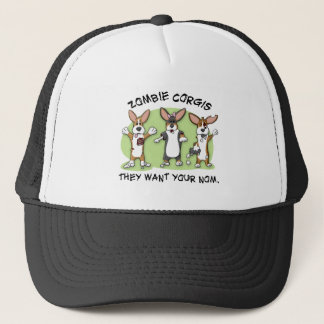 Corgi Zombies Trucker Hat