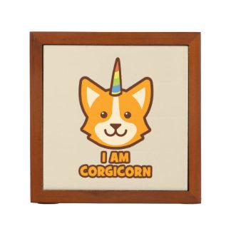 Corgicorn Desk Organizer