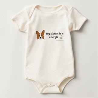 CorgiPembrokeSister Baby Bodysuit