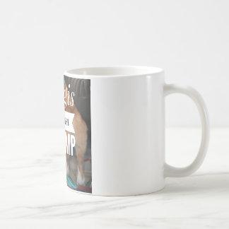 Corgis against Trump coffee mug