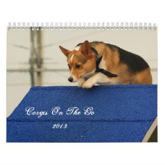 Corgis on the go 2013 calendars