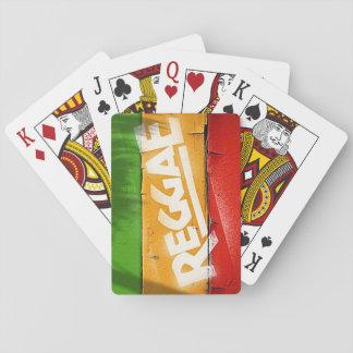 Cori Reith Rasta reggae graffiti Playing Cards