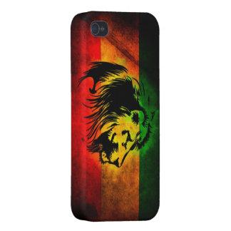 Cori Reith Rasta reggae lion iPhone 4 Cases