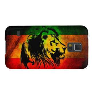 Cori Reith Rasta reggae music rasta flag lion Galaxy S5 Case