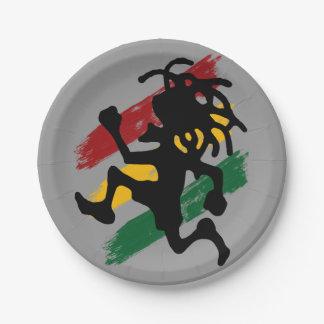 Cori Reith Rasta reggae rasta Paper Plate