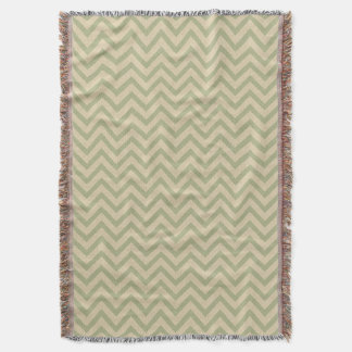 Coriander Spice Moods Chevrons Throw