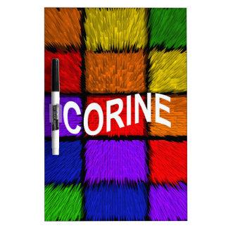 CORINE DRY ERASE BOARDS