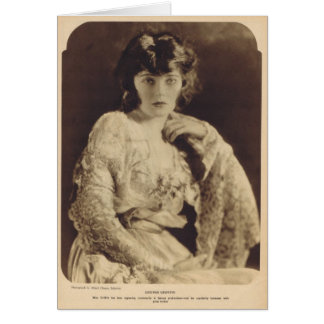 Corinne Griffith 1921 vintage portrait Card