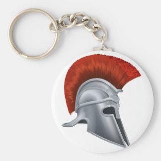 Corinthian helmet keychain