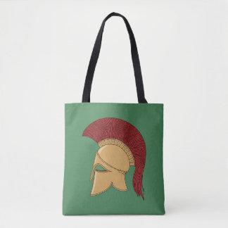 Corinthian Helmet Tote Bag