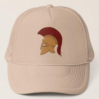 Corinthian Helmet Trucker Hat