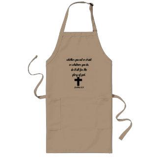Corinthians 10:31 long apron