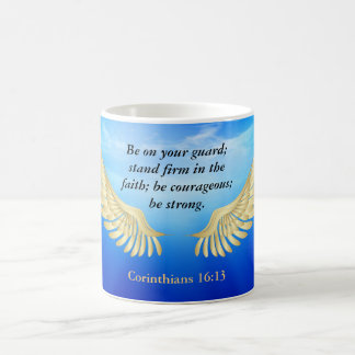 Corinthians 16:13 coffee mug