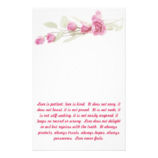 Corinthians Bible Verse Stationery