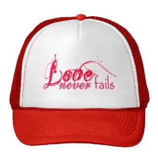 Corinthians Love Never Fails Mesh Hat