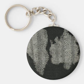 Cork Cells, Robert Hooke Keychain