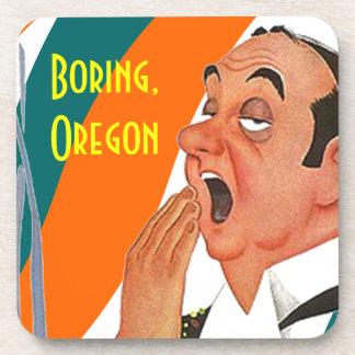 Cork Coaster Place Named Boring Oregon Yawn Town