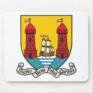 Cork Coat of Arms Mouse Pad
