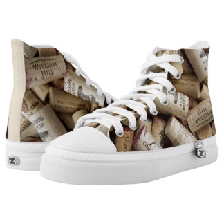 Cork High Top Shoes