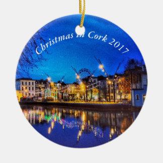 Cork, Ireland Christmas Ornament