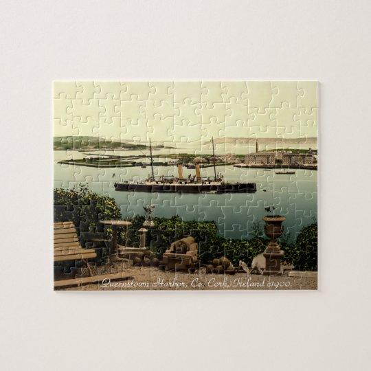 Cork, Ireland jigsaw, Queenstown harbour Jigsaw Puzzle