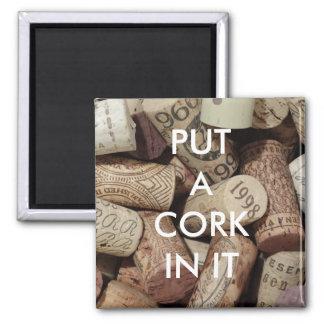 Cork It Magnet