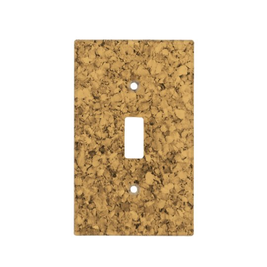 Cork Look Light Switch Cover
