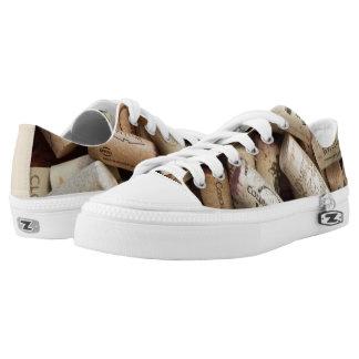 Cork Low-Top Sneakers