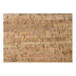 Cork-oak pattern large business cards (Pack of 100)
