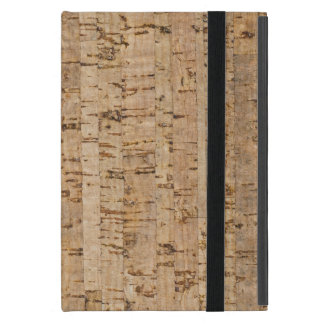 Cork oak pattern iPad mini case