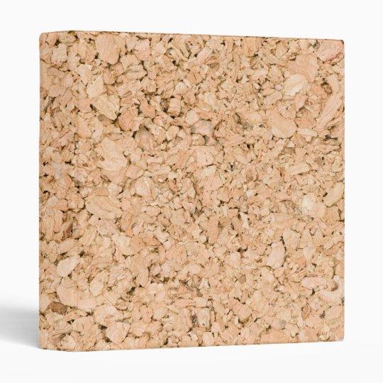 Cork oak pattern vinyl binder