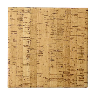 cork simulated tile design blank